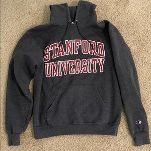 Stanford Hoodie Men's Small Champion